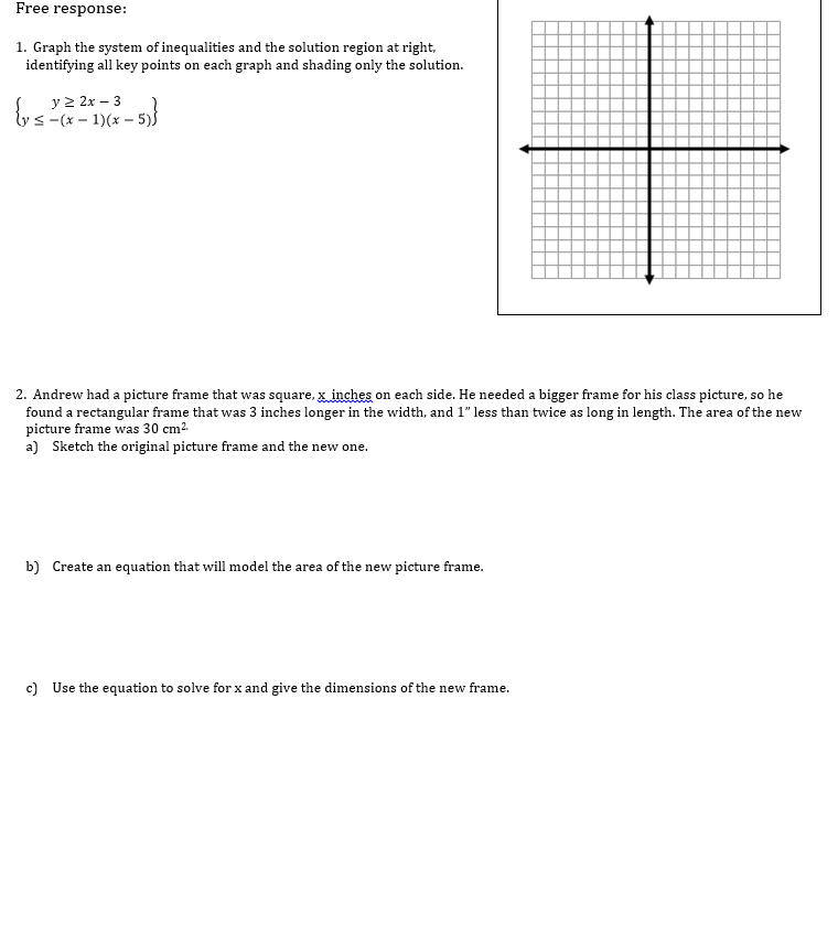 systems of inequalities word problems worksheet Termolak – Solving Systems of Inequalities Worksheet